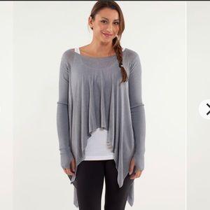 Lululemon Enlightenment Pullover Sweater Heather 6